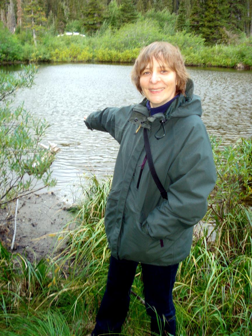 Fig 1  Marina  Potapova At  Two  Medicine  Pond