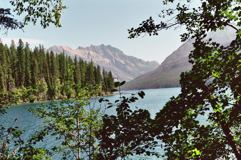 Kintla  Lake  Long  Knife  Peak