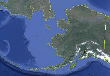 Usgs  Biodata  C Accomoda Map Alaska
