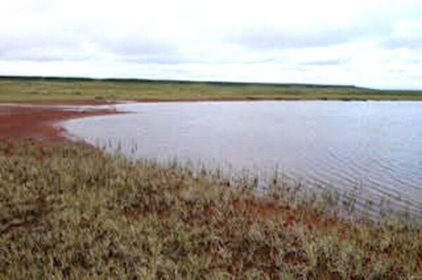 Bloody Falls Tundra Lake