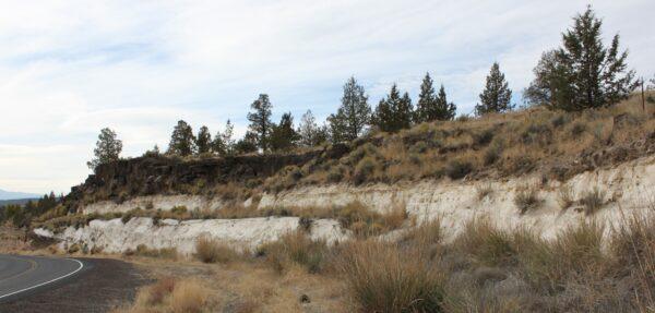 Diatomite deposit, Terrebonne, Oregon