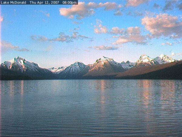 Lake  Mc Donald  April 12 2007
